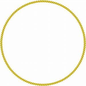 Rope Gold Circle Clip Art at Clker.com - vector clip art ...
