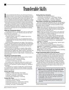 transferable skills exles resume 296 best images about resume on manager