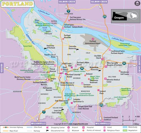 buy portland city map