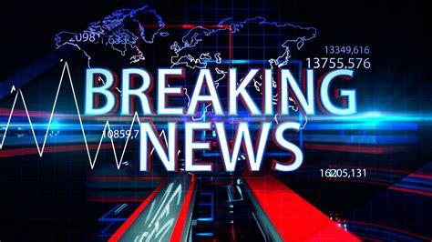 Breaking News Motion Graphics 4K Motion Background