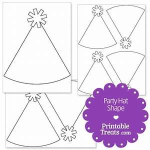 Printable Party Hat Shape Template  U2014 Printable Treats Com