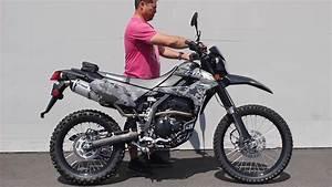 Motor Trail Kawasaki Klx 250cc