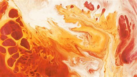 wallpaper fluid orange  creative graphics