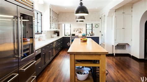 celebrity kitchens   architectural digest