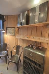 Photo salle a manger cuisine recup vintage deco photo for Deco cuisine avec armoire salle a manger