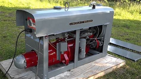 Lincoln Welder Sa200 Pipeliner 1963 Red Face Sold Youtube