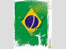 Brazil poster stock vector Illustration of vector, travel