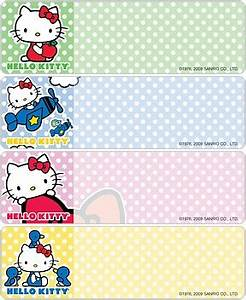 hello kitty address labels bj39s checks With hello kitty address labels