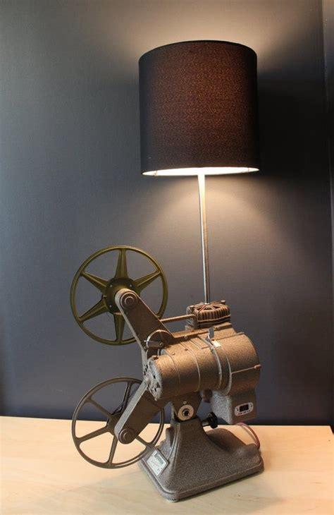 Home Theater Decor Movie Projector Table Lamp In 2019 Basement Design Idea Home Theater