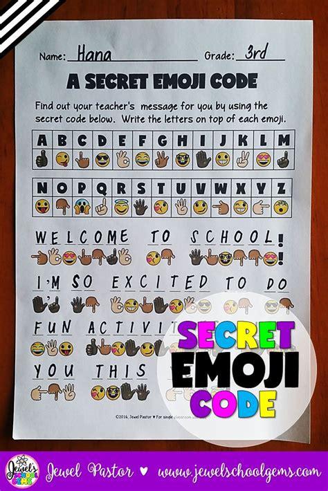 back to school emoji activities emoji back to school