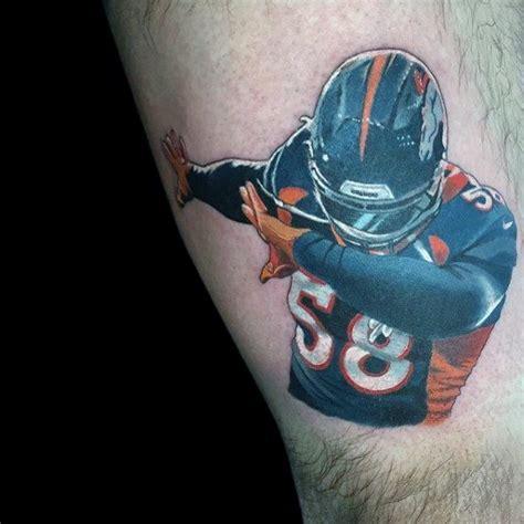 denver broncos tattoos  men football ink ideas