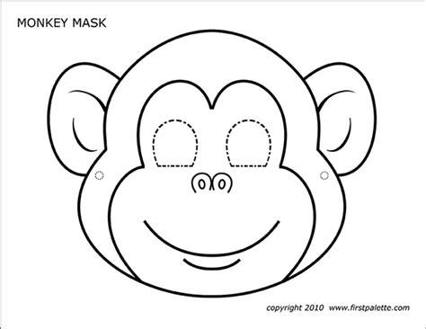 shocking  printable masks templates chavez blog