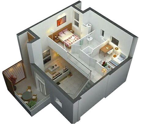 denah rumah sederhana  lantai  kamar tidur