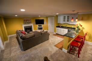 Finished Basement Apartment Ideas