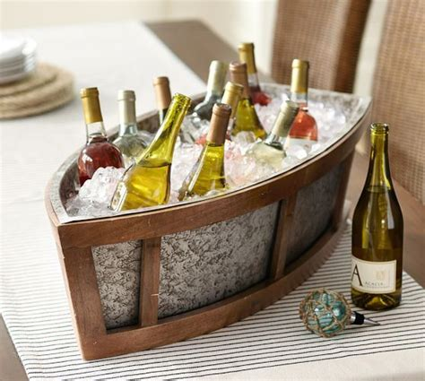 Boat Shaped Drink Cooler by Bronson Boat Cooler Pottery Barn Cy