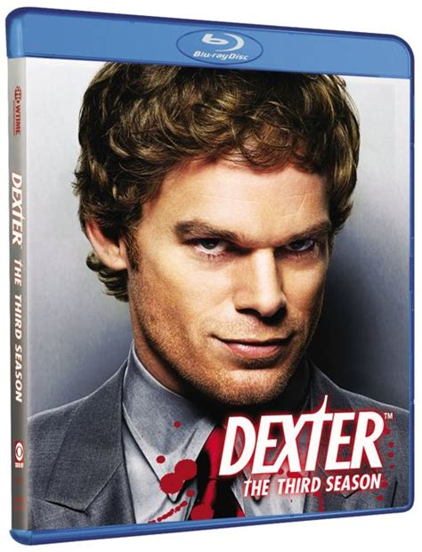 Dexter Season 3 DVD And Bluray Release Details | SEAT42F