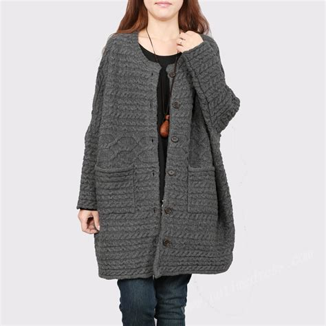 plus size sweaters gray beige plus size sweater cardigan coat for
