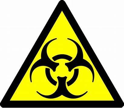 Biohazard Symbol Road Clip Clipart Svg Clker