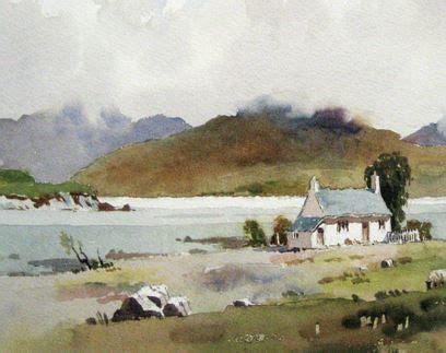 james fletcher watson en  paysage aquarelle comment