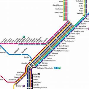 Project  Amtrak Subway Map