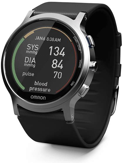 Omron shows prototype of first watch-sized blood pressure