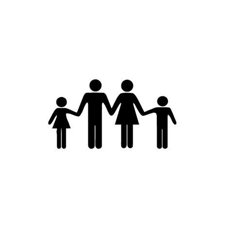 cuisine du frigo stickers mural design famille icone