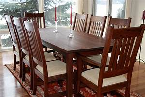 Craftsman Dining Set in Walnut Branch Hill Joinery