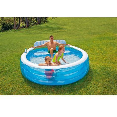 siege de piscine gonflable piscine gonflable avec banc intex piscines pour enfants