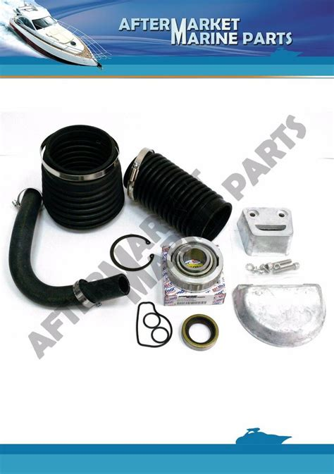 volvo penta sx  bellows  anode kit replaces
