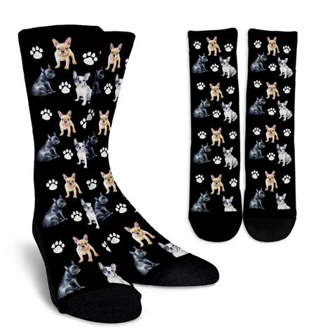 french bull dog socks groove bags