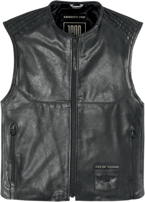 motorcycle jacket vest icon 1000 associate leather motorcycle vest