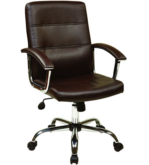 faux leather office chair in office chairs