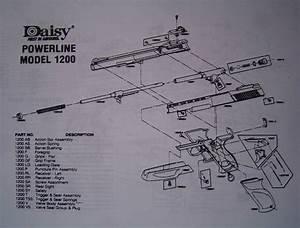 Daisy Powerline  Model 1200  Schematic