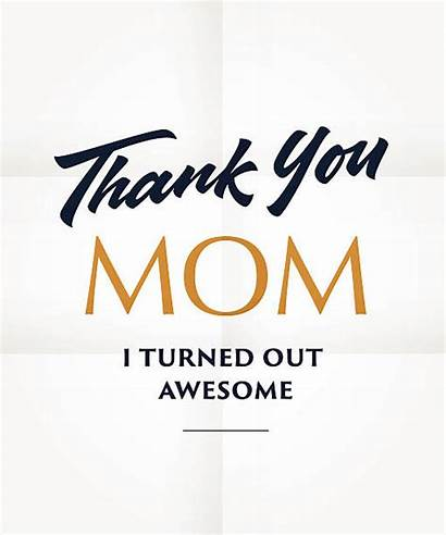 Thank Mom Quotes Memories Vector Poster Making