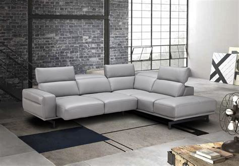 Top Sofas by Adjustable Advanced Italian Top Grain Leather Sectional
