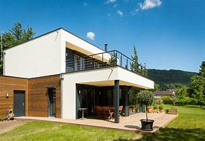 maison ossature bois booa woow4 booa maisons pinterest With plan de maison cubique 16 booa constructeur francais nouvelle generation