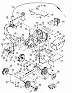 Dr Power Em5 3  Cordless Lawn Mower Parts Diagram For
