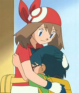 Pokemon Dawn And Serena Hugging Images | Pokemon Images