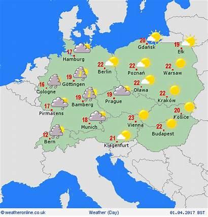 Weather European Holiday Switzerland Easter Weekend Week