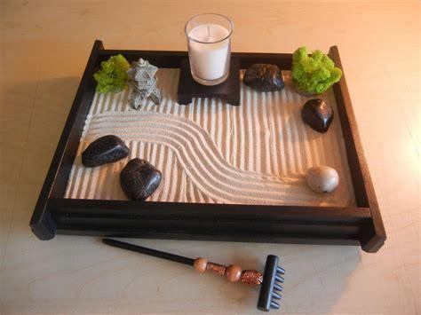 Zen Garten Miniatur by M Deluxe Medium Desk Top Zen Garden With Mini Pagoda And