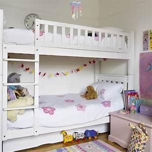 Girl's bedroom with bunk bed | Children's bedrooms | Bunk ...