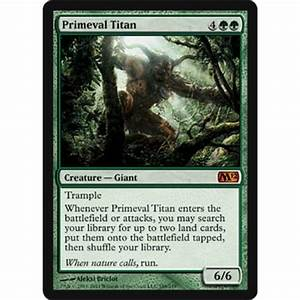 Magic: the Gathering Primeval Titan - Magic The Gathering ...