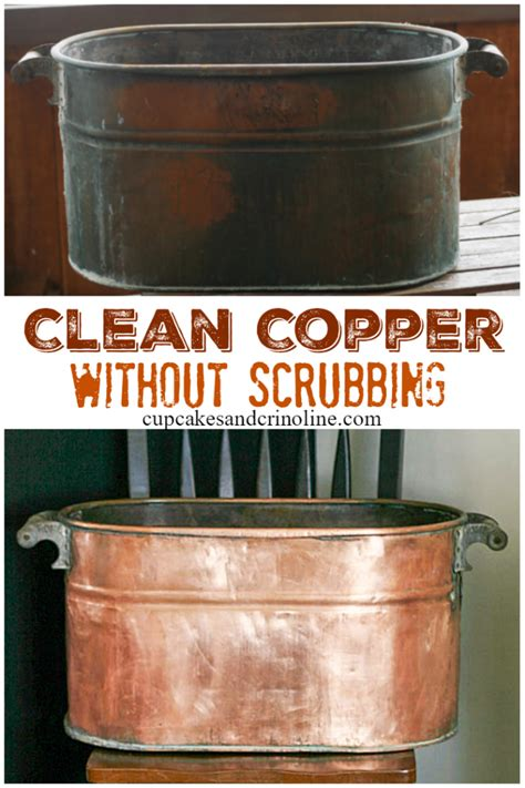 clean  polish copper naturally   clean