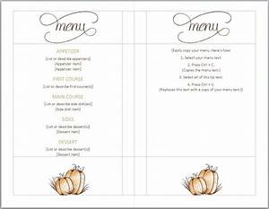 free thanksgiving menu template full serive menu With create a menu template free