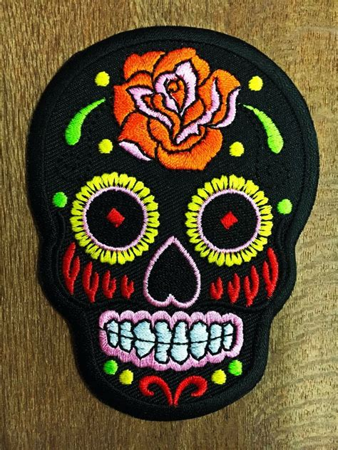 Patch Applique by Embroidered Iron On Sew On Patch Motif Applique Embroidery