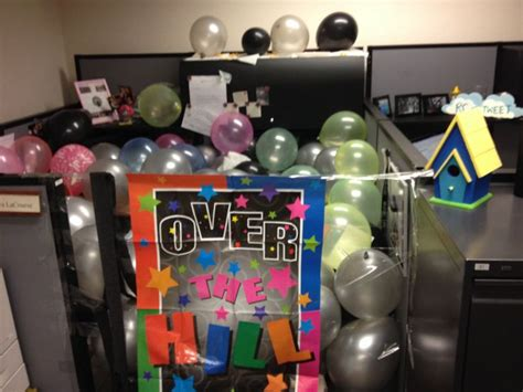 17 best images about office birthday on 40th birthday cubicle decorations and