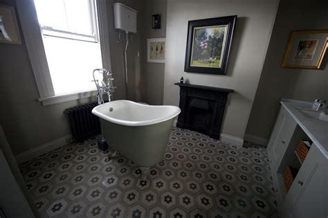 trending in bathroom decor resurgence of encaustic tile