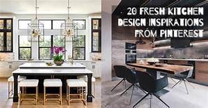 20 Fresh Kitchen Design Inspirations From Pinterest
