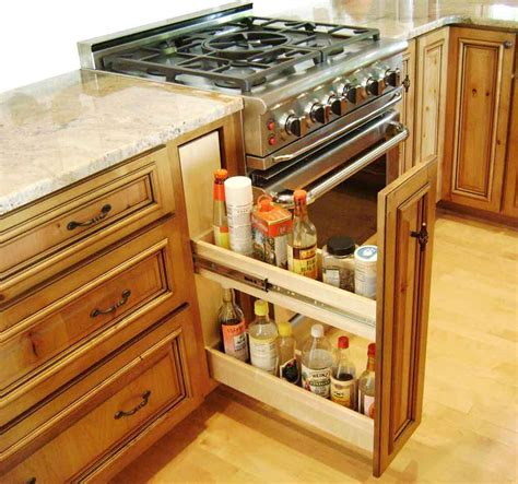 kitchen storage designs 36 sneaky kitchen storage ideas ward log homes 3144