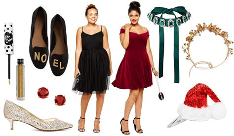 Christmas Outfits For Plus Size Women-party Wear